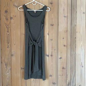 Grey Super Soft Wrap Tank Dress Size XS